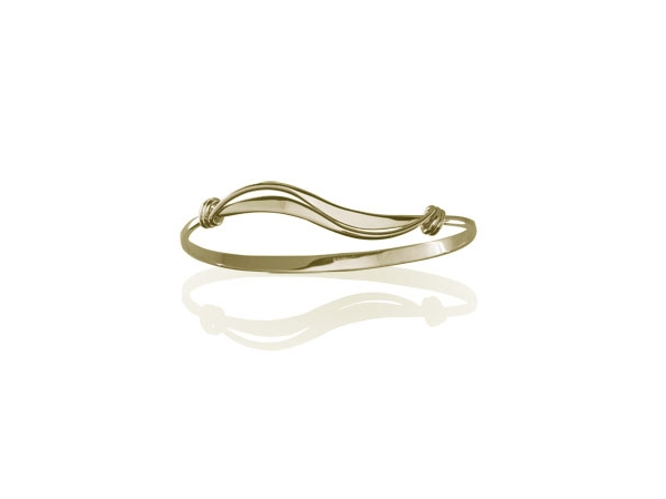 Ed Levin Wave Bracelet by Ed Levin