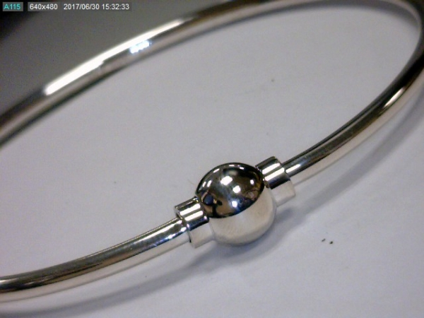 Sterling Silver Single Ball Bracelet by Cape Cod Collection